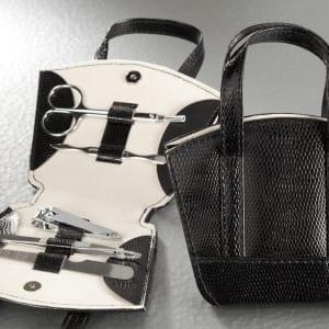 SET MANUCURE petit sac noir